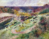 Landscape at Wargemont, 1879, Renoir, Pierre Auguste (1841-1919) / Toledo Museum of Art, Ohio, USA / Bridgeman Images