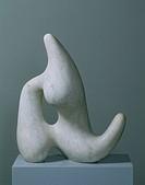 Dreaming Star, 1958 (marble), Arp, Hans (Jean) (1887-1966) / Hamburger Kunsthalle, Hamburg, Germany / Bridgeman Images