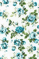 Rose Fabric background, Fragment of colorful retro tapestry textile pattern with floral ornament useful as background