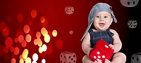 dice red baby