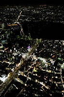 Aerial view of Omotesando areas