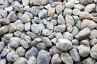 Bed Round Edged Pebbles