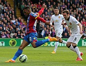 2015 Barclays Premier League Crystal Palace v Manchester United May 9th. 09.05.2015. London, England. Barclays Premier League. Crystal Palace versus M...