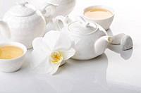 White tea ceremony