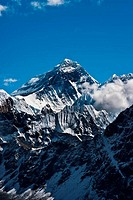 Everest Peak or Chomolungma - top of the world