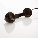 Telephone receiver.