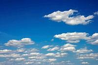 Peaceful clouds.