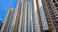 apartment block in Hong Kong
