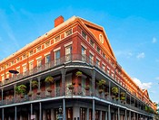 Brick Building in French Quarter