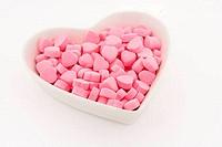 Pink Heart Shape Candy