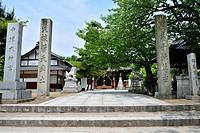 Japan, Kyushu Region, Oita Prefecture, Nakatsu, Nakatsu Grand Shrine.