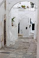 Ostuni alley