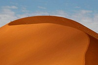 Desert landscape, Sossusvlei, Namib