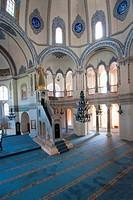 Indoor of the small Santa Sofia, Istanbul, Turkey