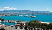Piraeus view in Athens
