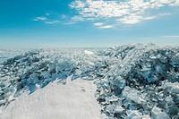 Winter treasures of Lake Baikal