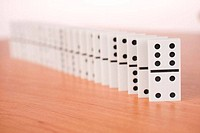 line of domino