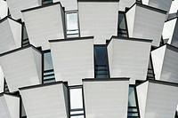 Modern building near Milan