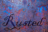 Rusted Metal Background 17
