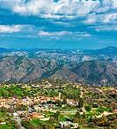 Kato Lefkara village. Limassol District, Cyprus