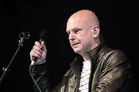 Radiohead drummer Philip Selway performs on Day One of The Field Day Festival, Victoria Park, London, England, UK on Saturday 6th June , 2015.