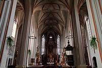 Cathedral interior, Opole