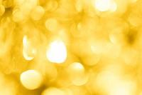 Beautiful festive golden bokeh as background