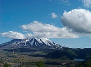 Mt St. Helens and Castle Lake