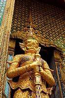 thailand style sculpture details