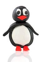 clay penguin