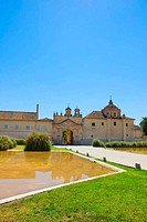 entrance of Monastery Cartuja, Sevilla, Spain