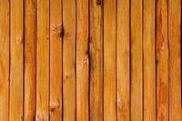 Vertical wooden wall
