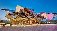 The Hotel Marqués de Riscal, A Luxury Collection Hotel by architect Frank O. Gehry. Elciego. Rioja alavesa wine route. Alava. Basque country. Spain.