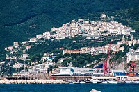 Harbor in Salerno
