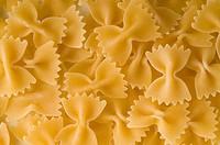 italian pasta farfalle shape
