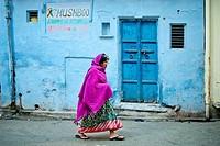 India, Rajasthan, Udaipur, daily life.