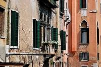House facade, Venice
