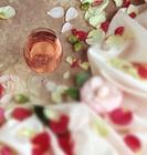 wine glass-flowers