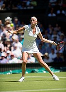 30.06.2015. The Wimbledon Tennis Championships 2015 held at The All England Lawn Tennis and Croquet Club, London, England, UK.  Petra KVITOVA (SUI) [2...