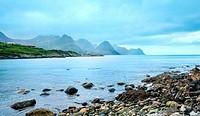 Summer Senja coast (Norway)