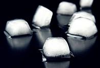 ice on black