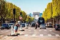 France;Paris;Champs Elysees Ave