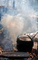 dense smoke