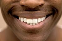 Mouth of Man Smiling