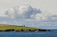 Coastline, Yell, Shetland Islands, Scotland, United Kingdom
