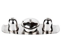 Salt and pepper jar set