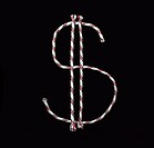 dollar sign rope