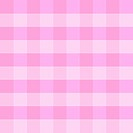 Pink checkered cloth