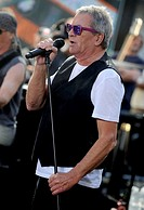 Deep Purple perform on NBC's 'Today Show' at Rockefeller Plaza on July 23, 2015 in New York City.   Ian Gillan.