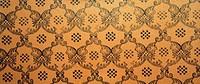 Vintage brown damask seamless pattern background